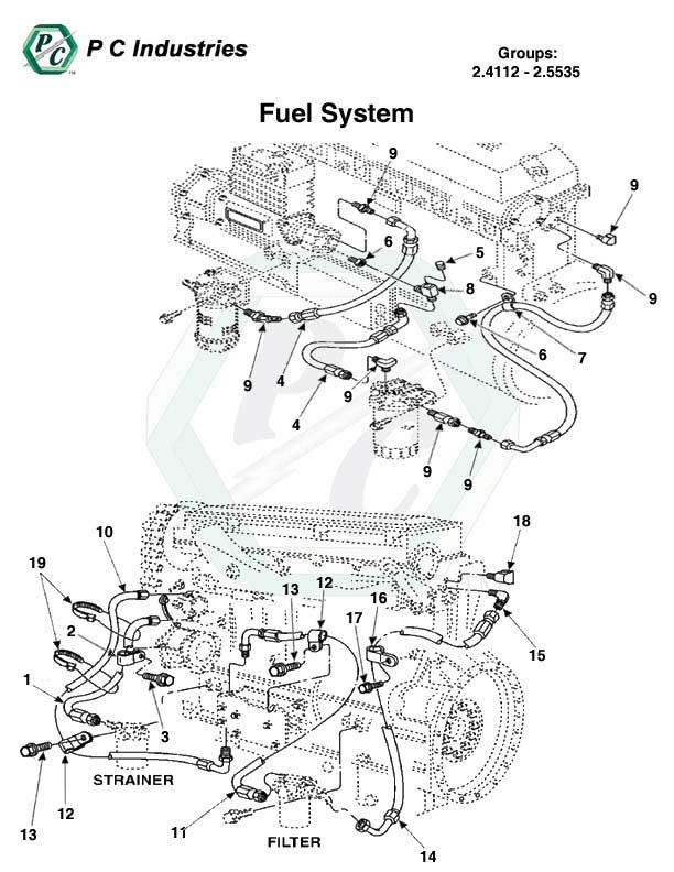 fuel system series 60 detroit diesel engines catalog page 137 rh powerlinecomponents com Detroit 60 Series Fuel Illustration DD15 Fuel System Diagram