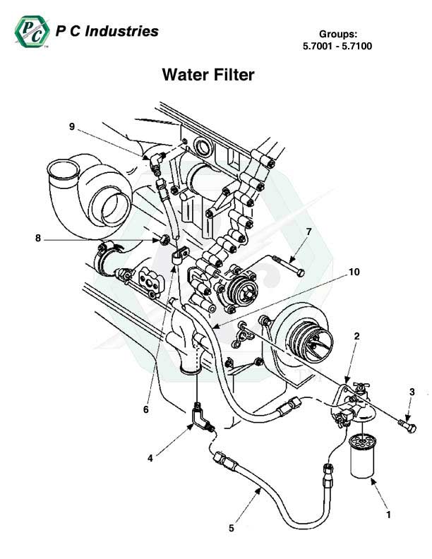 Detroit Series 60 Engine Diagram Series Lubrication System Schematic