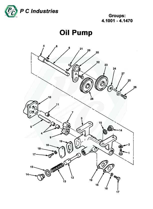 Detroit Diesel 671 Parts Diagram