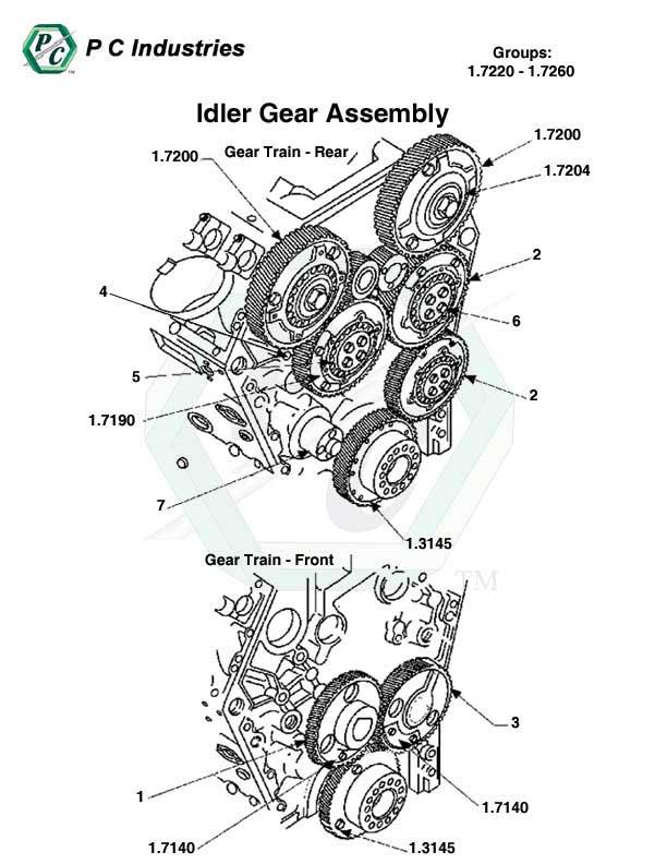 idler gear assembly