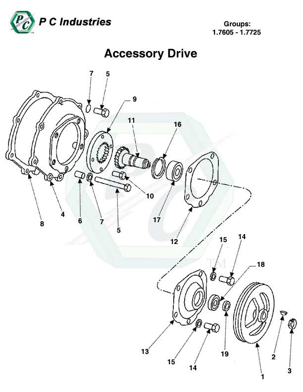 Accessory Drive Series 149 Detroit Diesel Engines