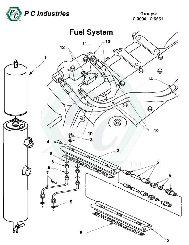Fuel System Series 149 Detroit Diesel Engines Catalog