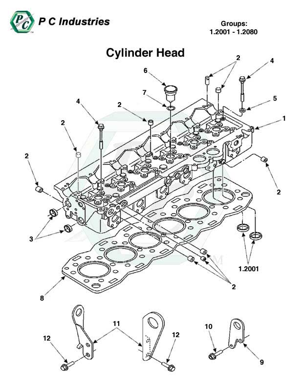 Page on Perkins 4 Cylinder Engine