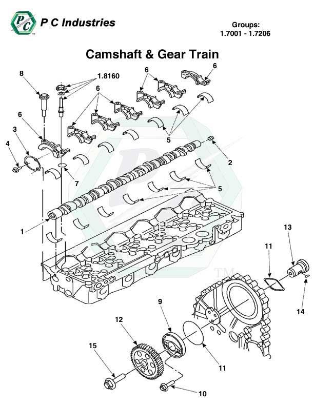 Camshaft  U0026 Gear Train