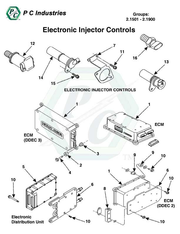 electronic controls series 60 detroit diesel engines. Black Bedroom Furniture Sets. Home Design Ideas