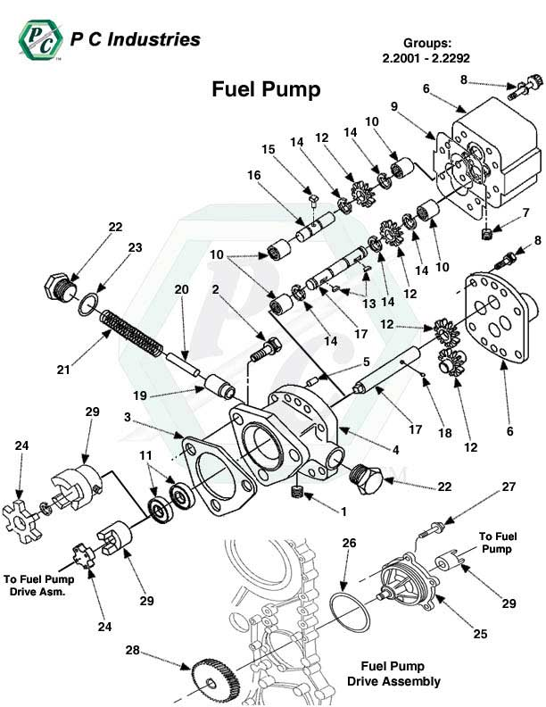 60 Diesel Engine Part Diagram