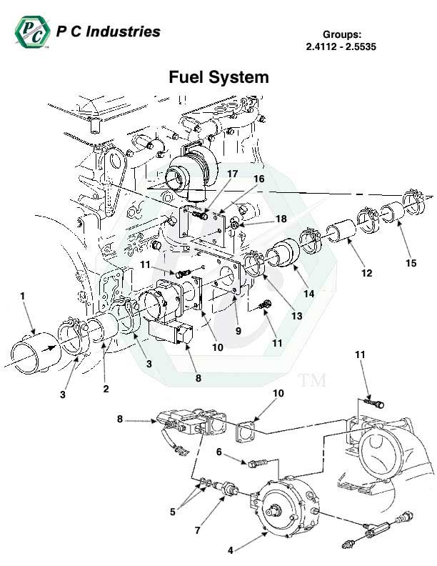 detroit diesel engine block schematic
