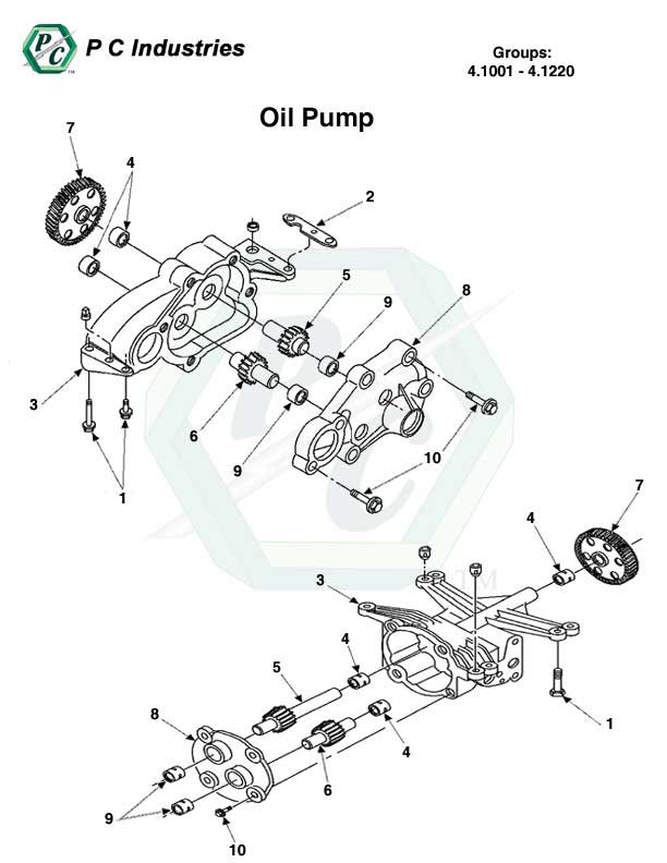 Oil Pump Series 60 Detroit Diesel Engines Catalog Page 178
