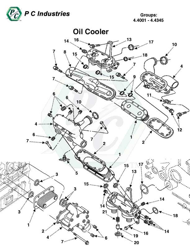 Oil Cooler Series 60 Detroit Diesel Engines Catalog Page 193