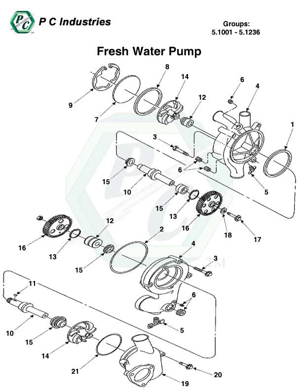 fresh water pump