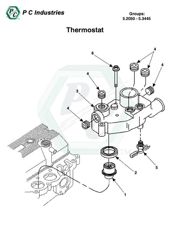 Thermostat Series 60 Detroit Diesel Engines Catalog Page 234