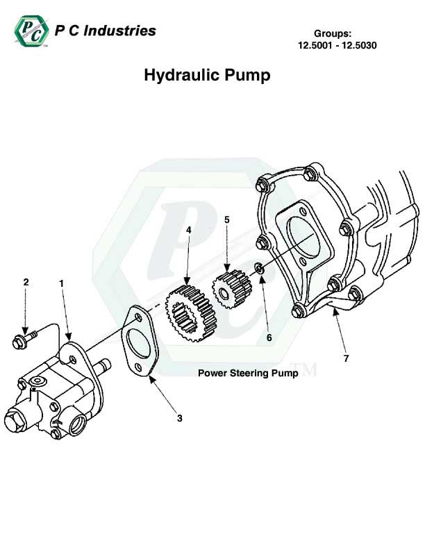 Hydraulic    Pump  Series 60 Detroit Diesel Engines Catalog