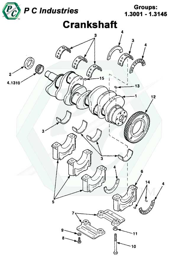 Crankshaft Series 53 Detroit Diesel Engines Catalog Page 6