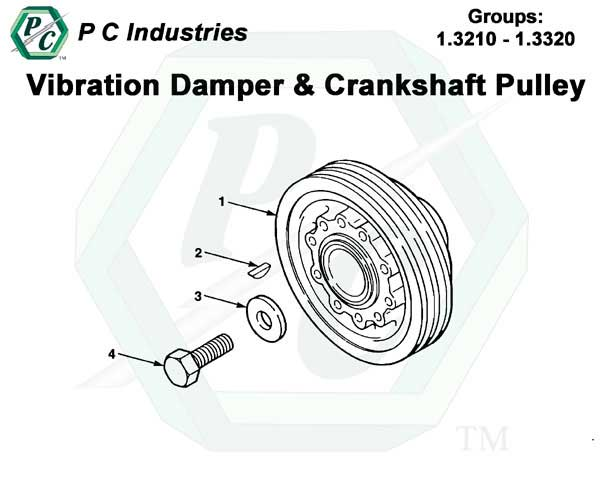 Vibration Damper And Crankshaft Pulley