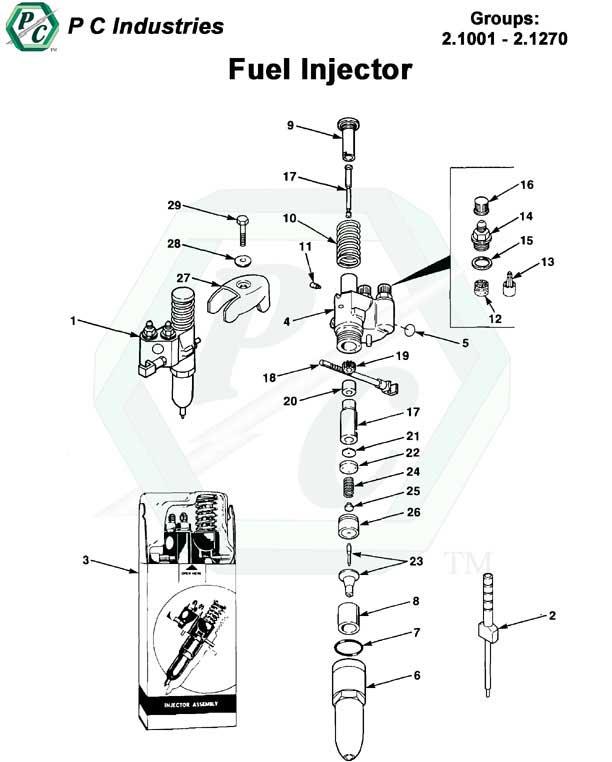 Fuel Injector Series 53 Detroit Diesel Engines Catalog