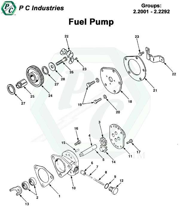 Fuel Pump Series 53 Detroit Diesel Engines Catalog Page 36