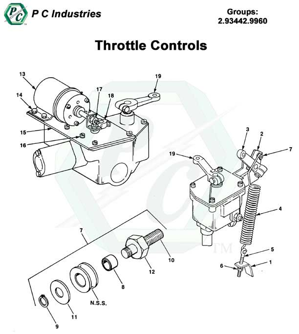 throttle controls series 53 detroit diesel engines catalog page 86 53 throttle controls pg84 89 jpg diagram
