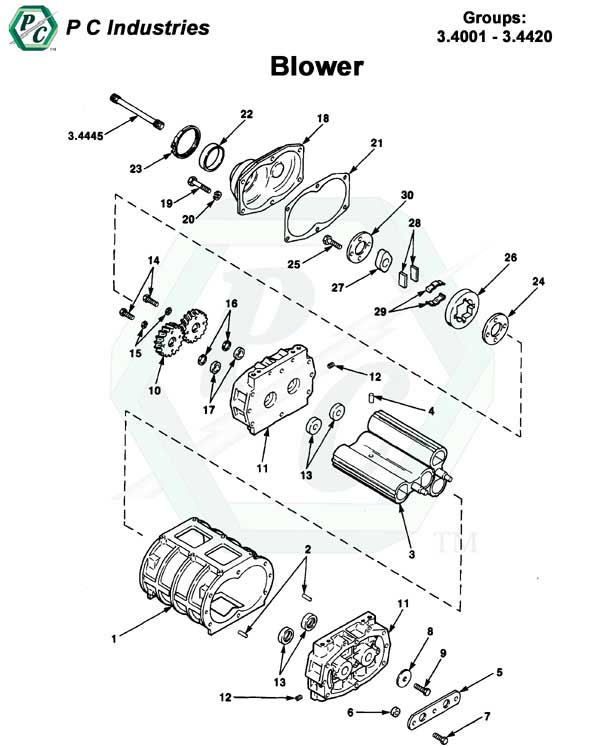 blower series 53 detroit diesel engines catalog page 94