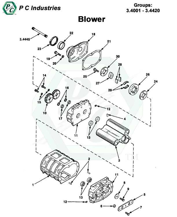 blower series 53 detroit diesel engines catalog page 97 53 blower pg94 97 jpg diagram