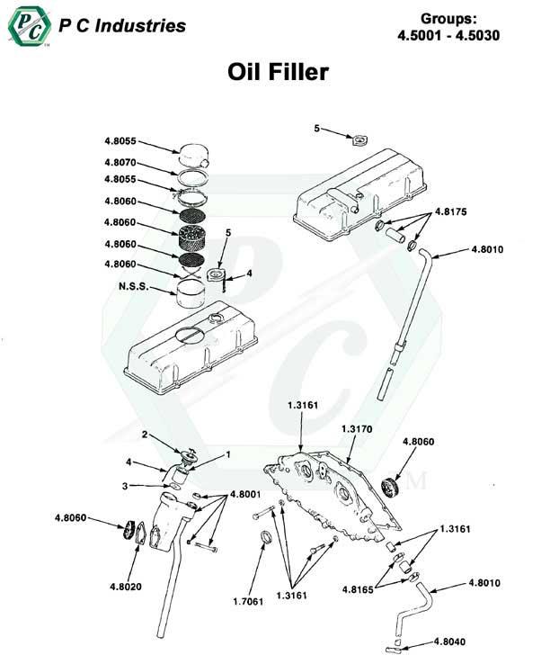 Oil Filler Series 53 Detroit Diesel Engines Catalog Page 113