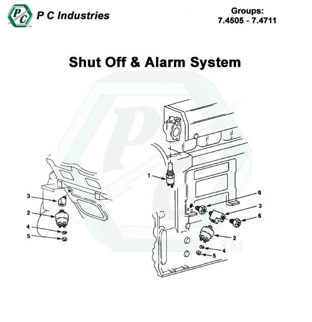 shut off  u0026 alarm system