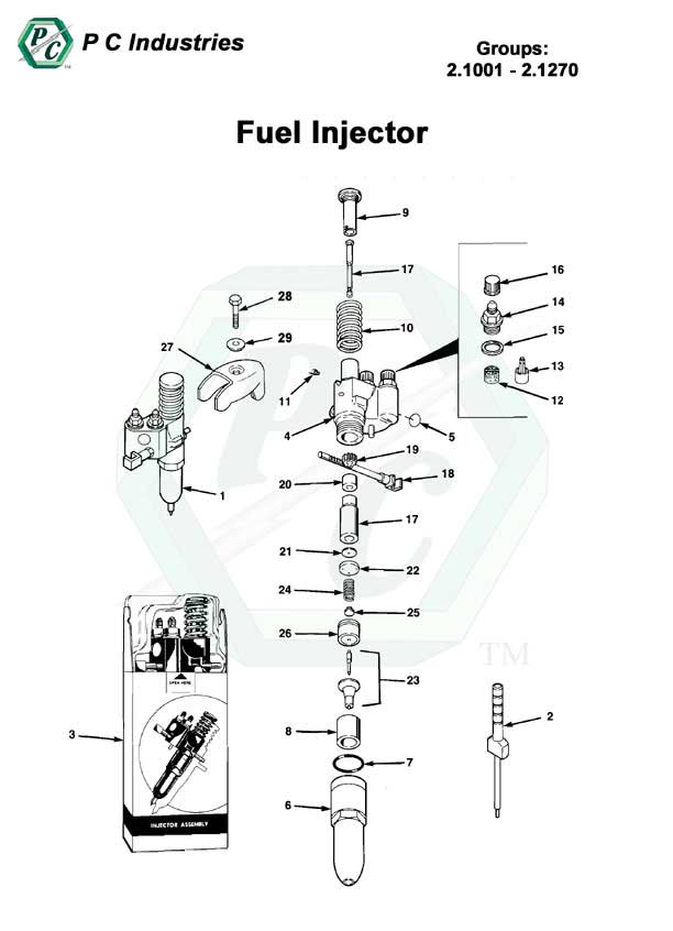 Fuel       Injector     Series 92 Detroit Diesel Engines Catalog