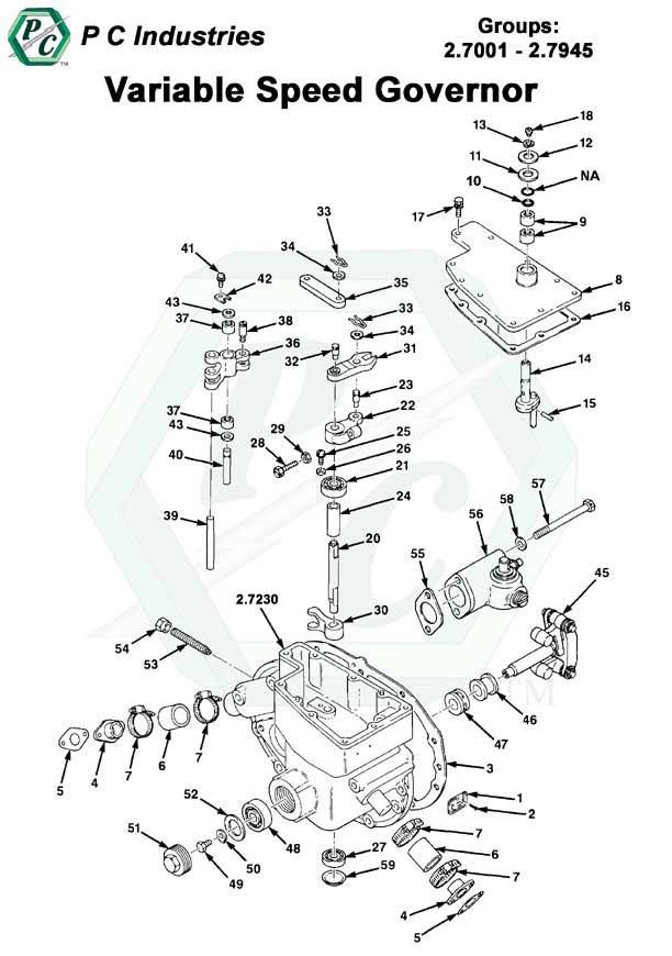detroit parts catalog serial 60