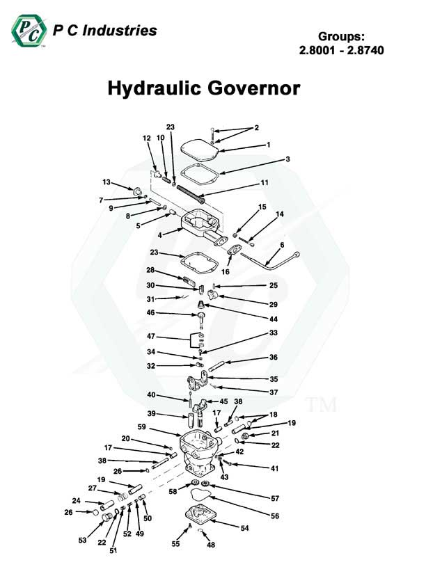 il71_hydraulic_governor_pg68-72.jpg - Diagram