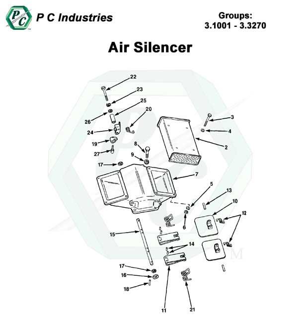 Air Silencer Series 92 Detroit Diesel Engines Catalog