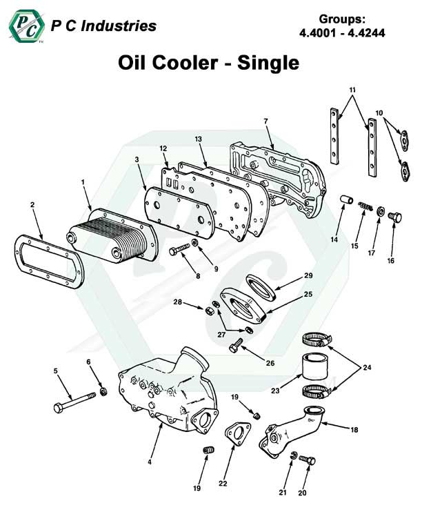 Oil Cooler Series 92 Detroit Diesel Engines Catalog Page 182