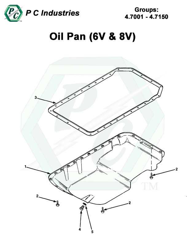 Oil Pan  6v  U0026 8v