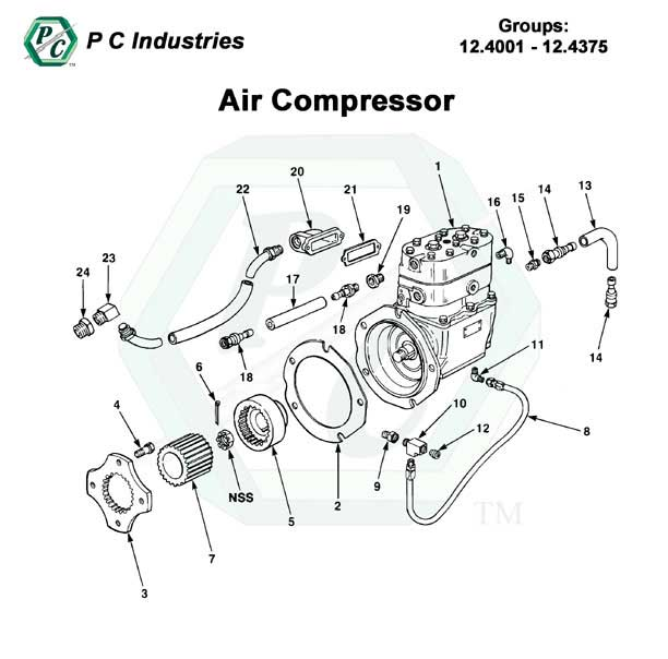 Air Compressor Series 92 Detroit Diesel Engines Catalog