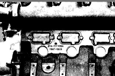 Detroit Diesel v71 Series Model Identification Chart