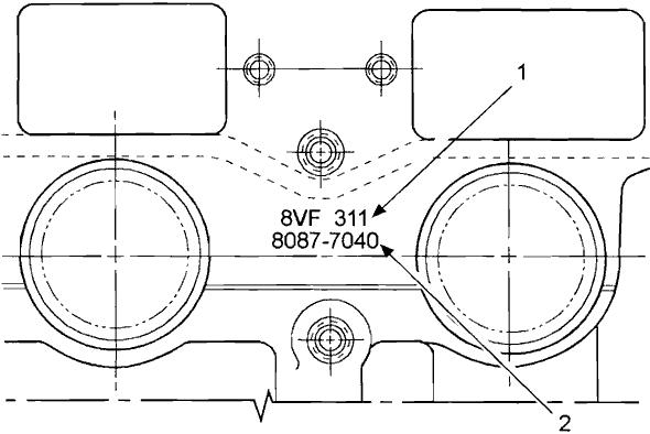 Detroit Diesel 92 Series Model Identification Chart